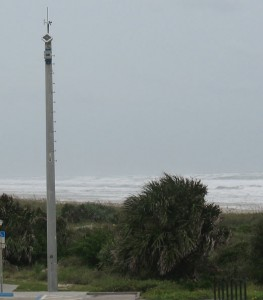 New Smyrna Beach Hurricane Weather Station