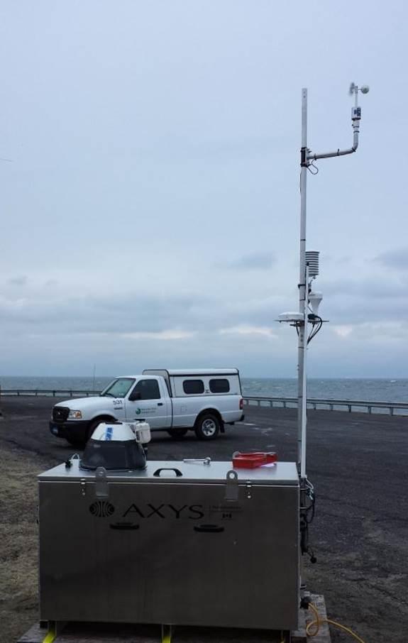 CBBT LIDAR installed 1